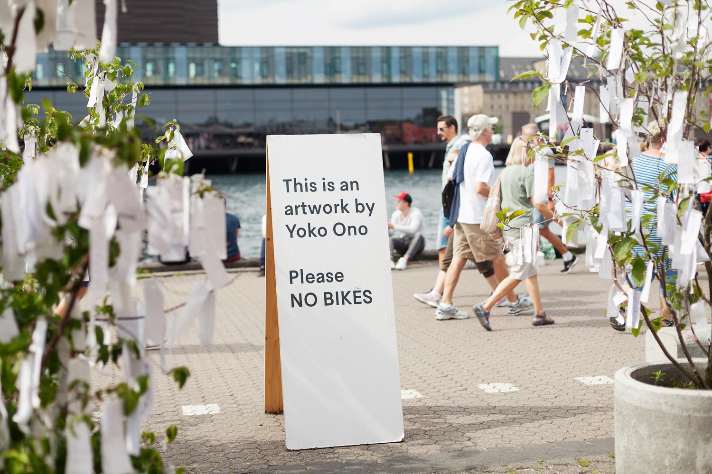Yoko Ono utställning